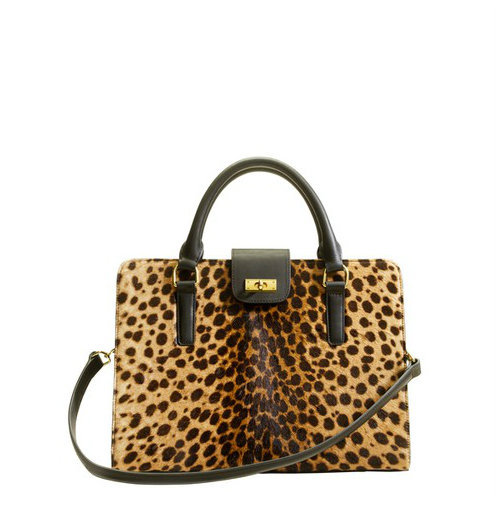J.Crew Edie Attaché Bag in Italian Calf Hair ($698)