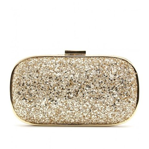 Anya Hindmarch - MARANO GLITTER BOX CLUTCH