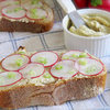 Photo Gallery: Radish Tartines With Bagna Cauda Butter