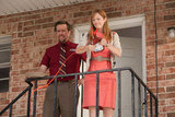 Ed Helms and Judy Greer in Jeff, Who Lives at Home. Photo courtesy of Paramount Pictures