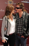 Rande Gerber and Cindy Crawford looked loved up at the John Varvatos Stuart House benefit.