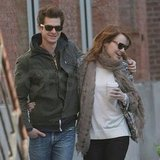 Andrew Garfield and Emma Stone were too cute in NYC.