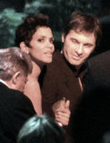 Halle Berry and Olivier Martinez stuck together leaving a Golden Globes event in January 2011.