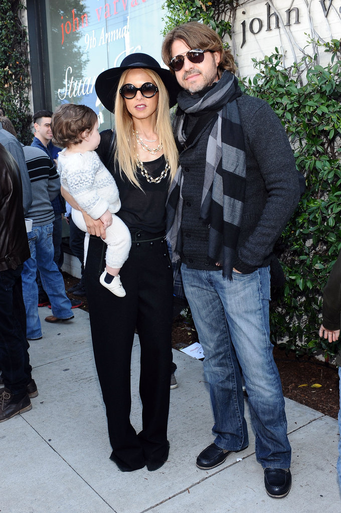 Rachel Zoe, Skyler Berman, and Rodger Berman spent an afternoon in LA.