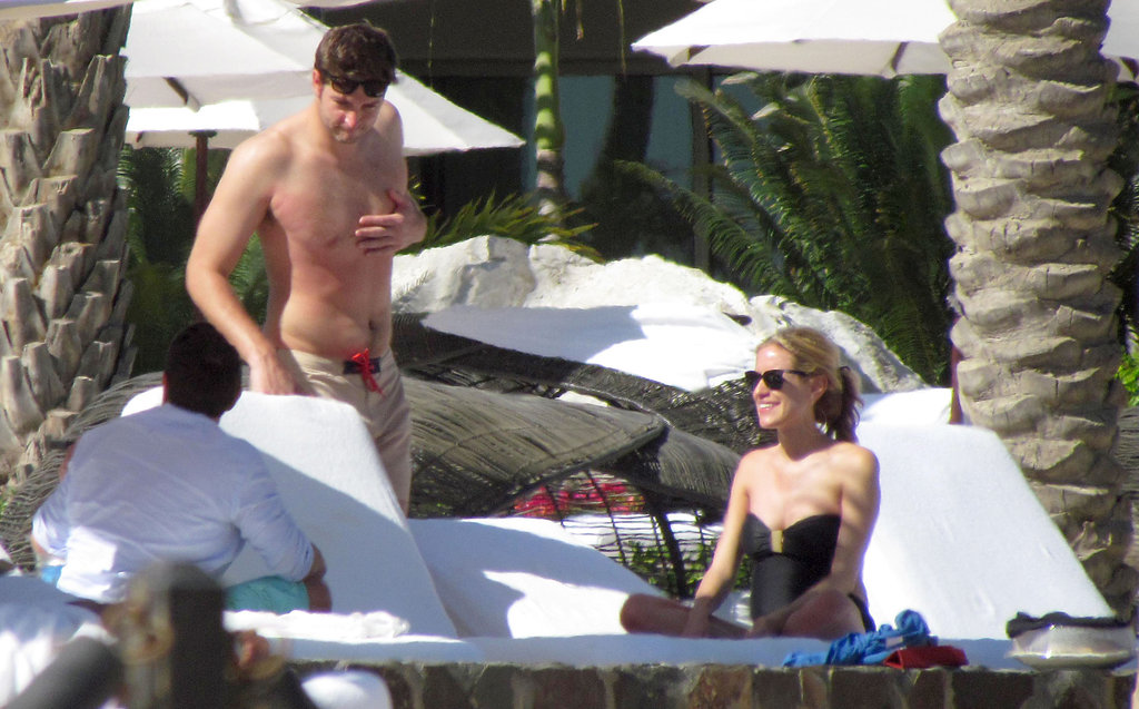 Kristin Cavallari and Jay Cutler on vacation.