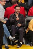 Tobey Maguire was in the front row.