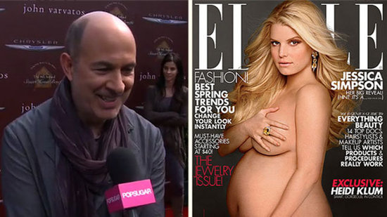 "Video: Jessica Simpson's Fellow Fashion Star Talks Pregnant Nude Pic — ""She Looks Gorgeous!"""