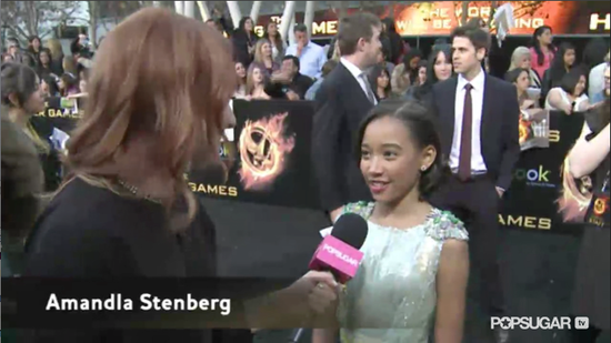 Video: The Hunger Games' Amandla Talks Playing Rue and Jennifer Lawrence's Sweet Side