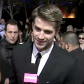 Liam Hemsworth Video Interview The Hunger Games Premiere