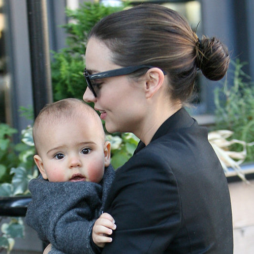 Miranda Kerr's Off-Duty Hairstyles