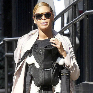 Beyonce Knowles and Blue Carter Pictures in NYC
