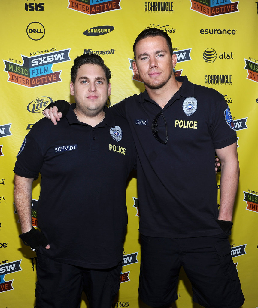 Channing Tatum and Jonah Hill posed together.