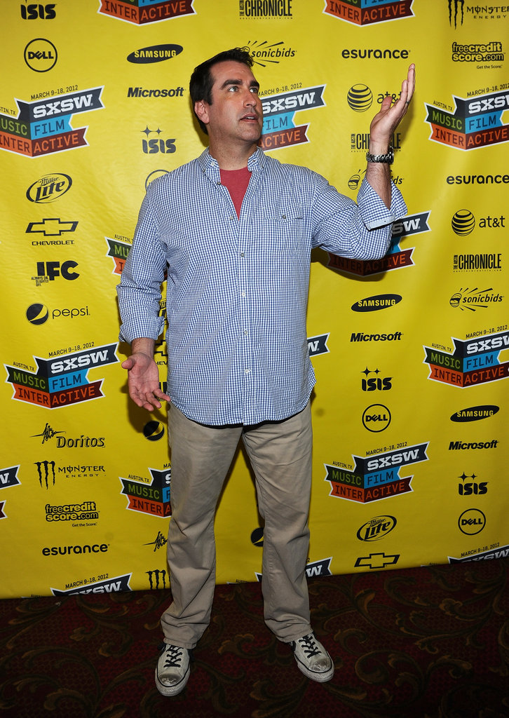 Rob Riggle posed at SXSW.