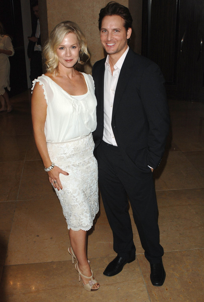 Peter Facinelli and Jennie Garth dressed up for LA's Step Up Women's Network 2010 Inspiration Awards in May 2010.