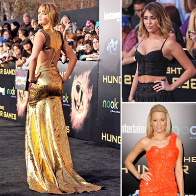 Hunger Games LA Premiere Red-Carpet Pictures