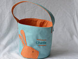 Little Boy Bunny Wool Easter Basket ($40)