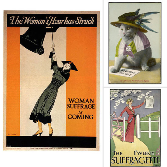 Celebrate the 19th Amendment With Suffragette Art