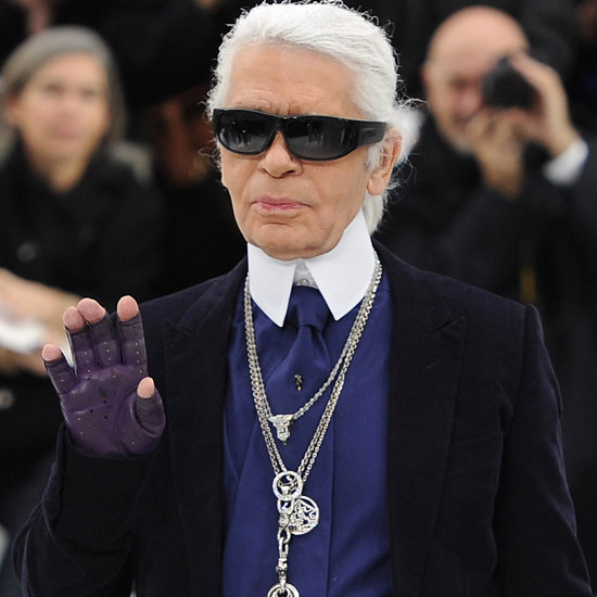 See Karl Lagerfeld's First Trip to the Grocery Store