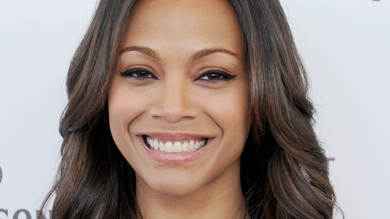 Why Zoe Saldana Has the Best Smile in Hollywood