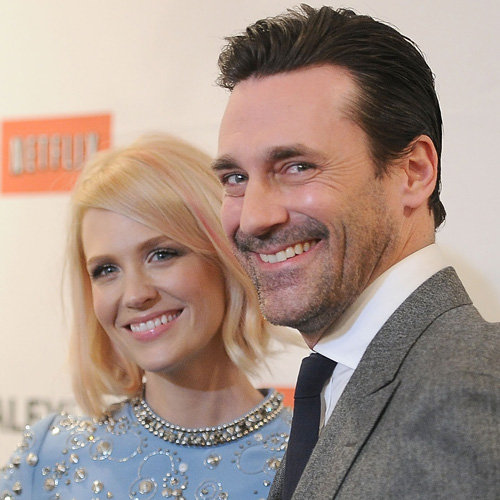 Jon Hamm and January Jones Pictures at PaleyFest