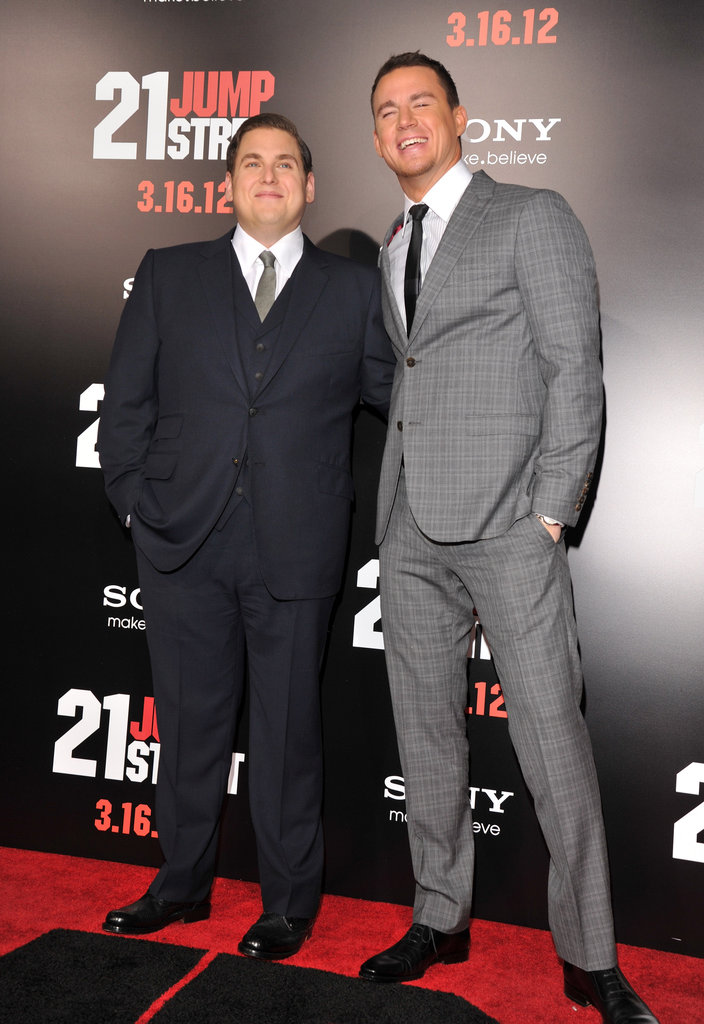 Jonah Hill and Channing Tatum made a dynamic red-carpet duo.