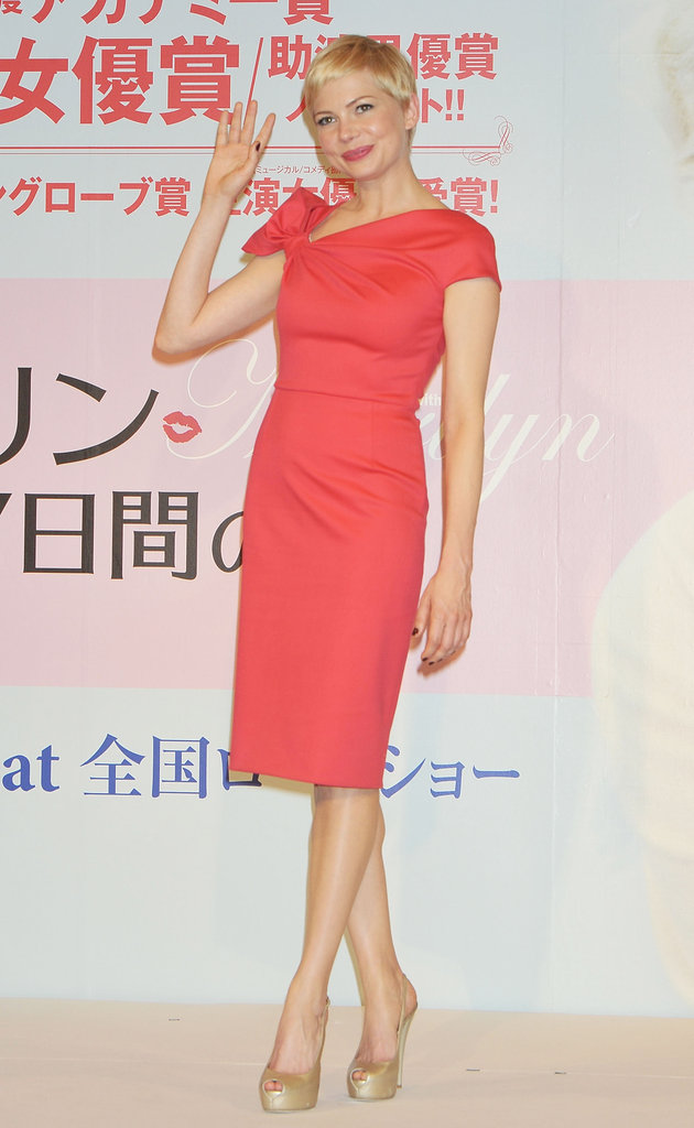 Michelle Williams in Japan.