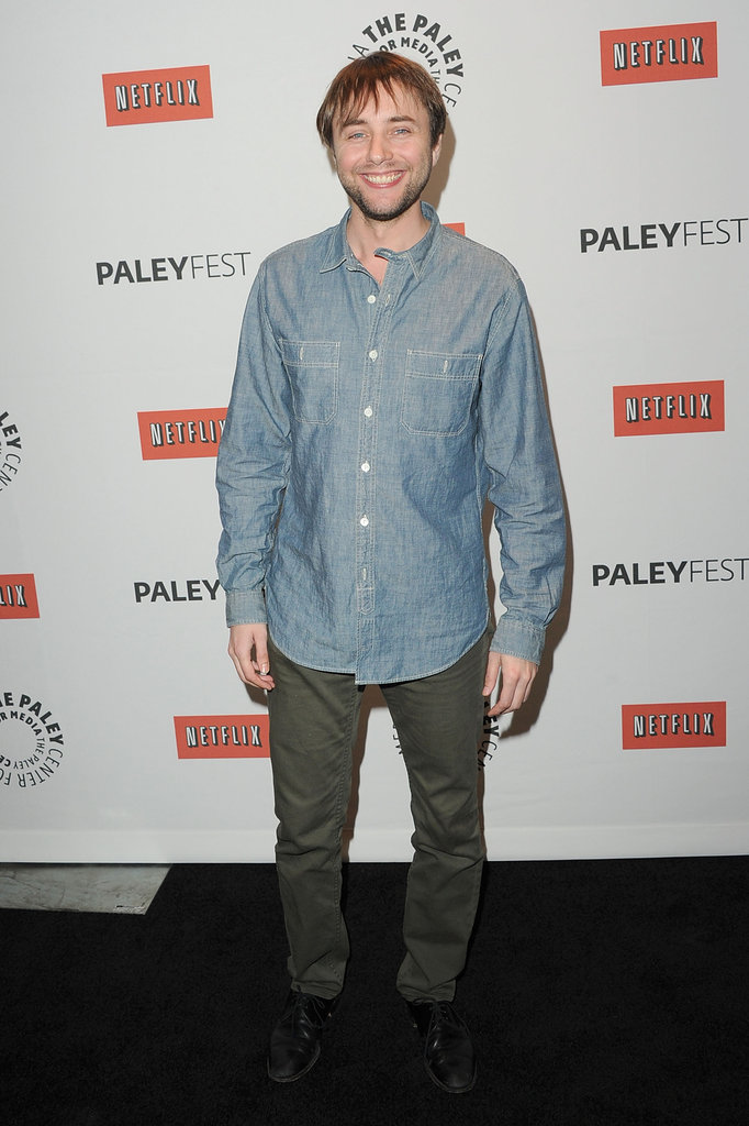 Vincent Kartheiser attended the Mad Men PaleyFest panel.
