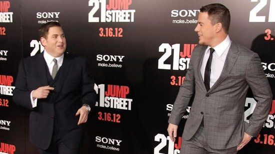 "Video: Channing Tatum Says Likable Jonah Hill ""Could Punch Someone, and Keep Them Laughing"""