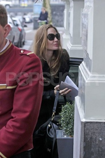 Angelina Jolie was in Amsterdam.