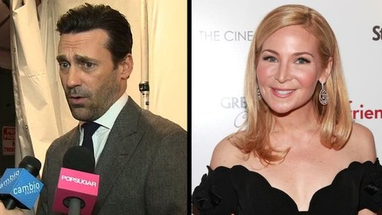 Video: Jon Hamm Drops Mad Men Marriage Hint and Is Inspired by Jennifer Westfeldt