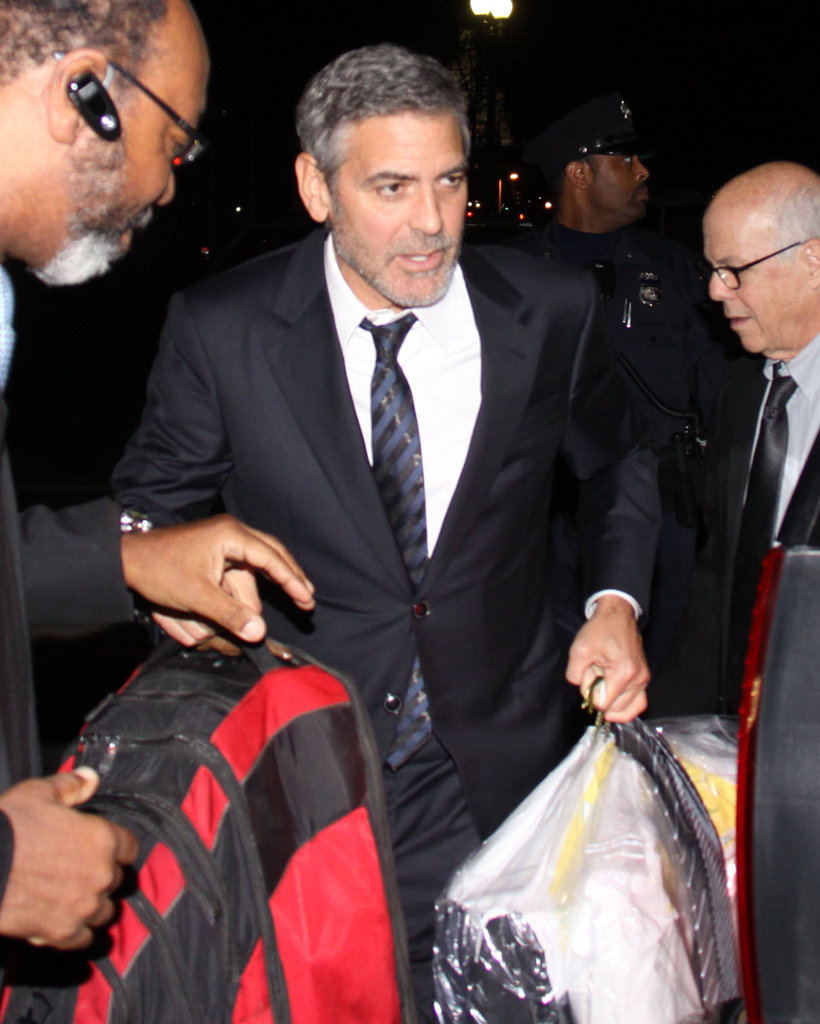 George Clooney was in DC.