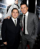 Channing Tatum put an arm around Jonah Hill.
