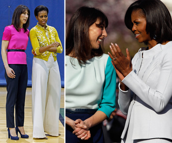 First Ladies of Style Unite: Michelle Obama Hosts the UK's Samantha Cameron