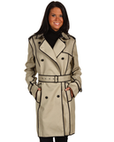 Kenneth Cole New York contrast trench coat ($160, originally $200)