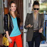 Jessica Alba Red Pants