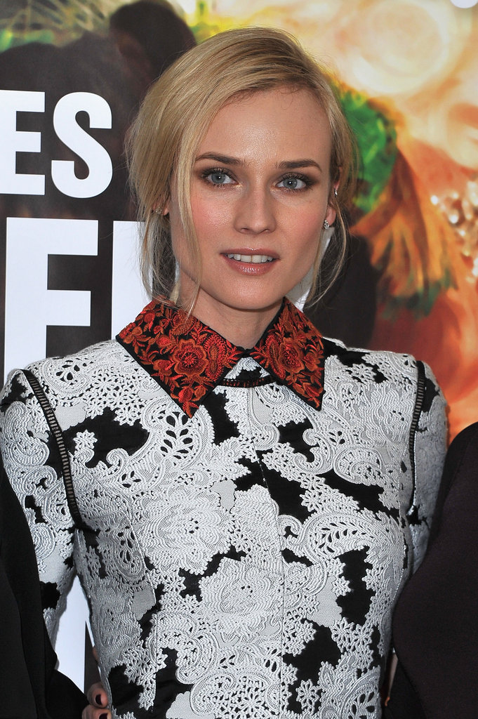 Diane Kruger in Paris.
