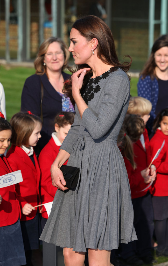 Kate Middleton Goes From Athletics to Heels Side by Side With Prince Charles