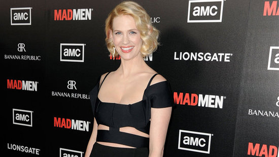 "Video: January Jones Shares Xander's Milestones at Mad Men's Premiere — ""He's Quite a Charmer"""