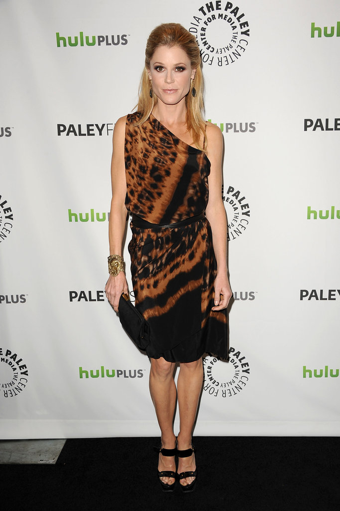 Julie Bowen arrives at PaleyFest.