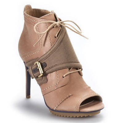 Cute Peep-Toe Booties For Spring 2012