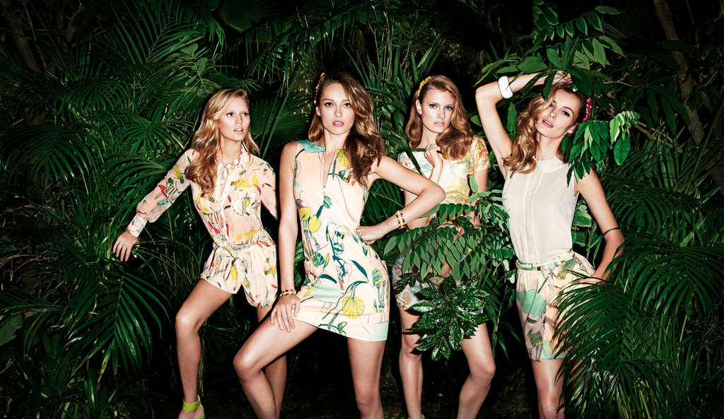 H&M Conscious Collection ad campaign