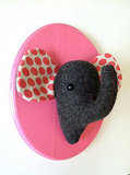 Elephant Felt Taxidermy ($33)