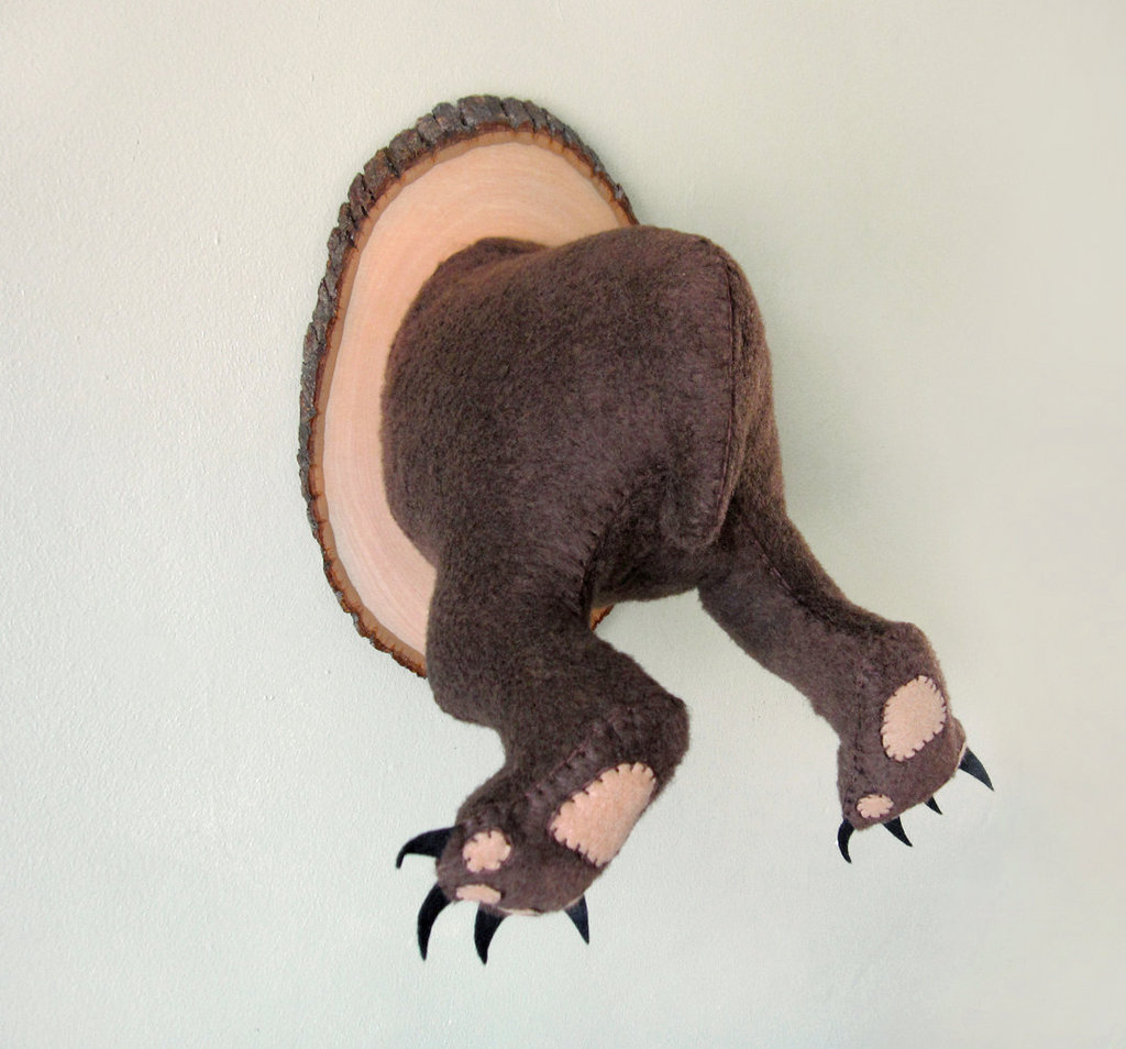 Anatomically Incorrect Creatures' The Behind of a Mighty Grizzly Bear ($175)