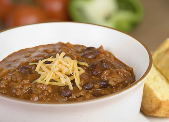 Tofu Chili With Black Beans