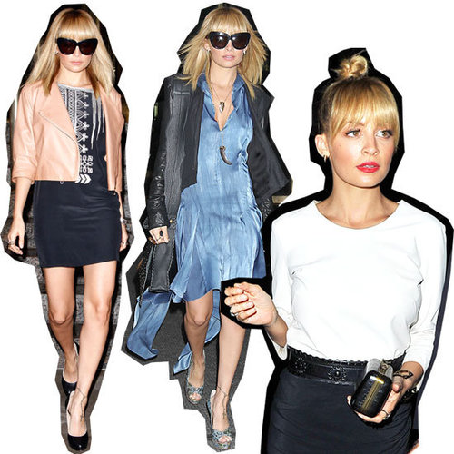 Nicole Richie's Fashion Star Press Tour Wardrobe Under the Microscope: Stalk Her Stellar Style!