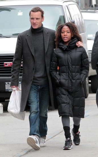 Michael Fassbender Goes Public With Nicole Beharie