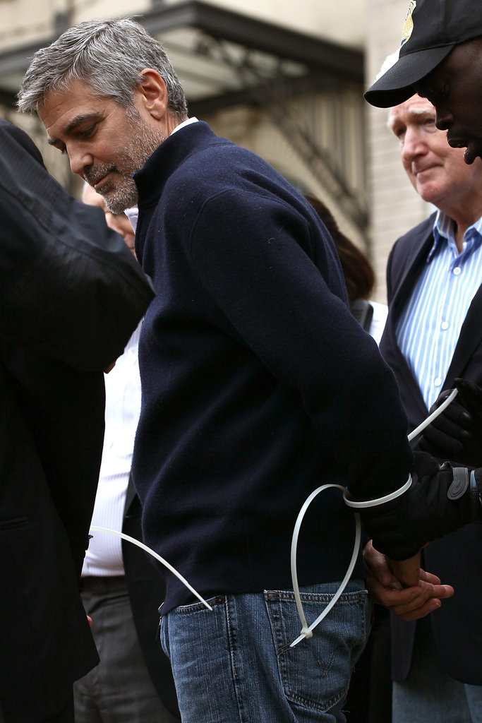 George Clooney was arrested.