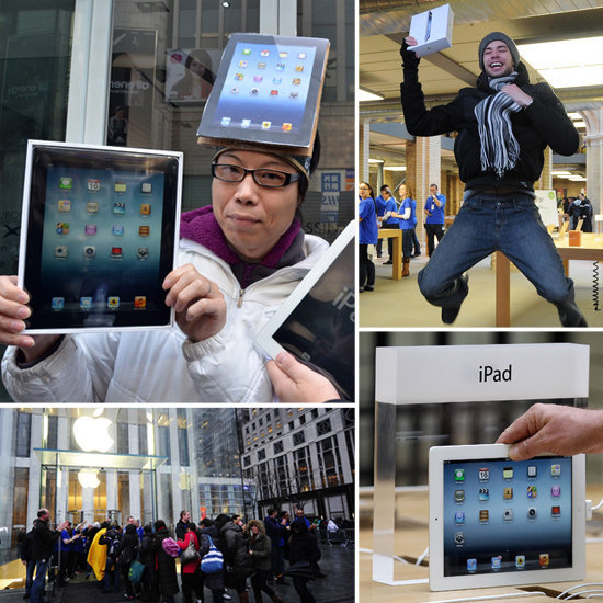 The New iPad Goes on Sale