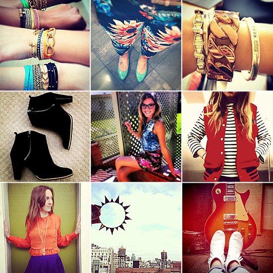 #FabStyleSnap Recap — Our Favorite Shoes, Jewels, Stripes, and More!