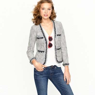Terrazo tweed jacket